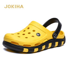 A buon mercato di Vendita 2020 di Estate Giardino Zoccoli Per Gli Uomini di EVA di Modo Sandali Uomo Maschio Calzature Beack Pantofole Da Uomo