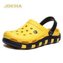 Zuecos de jardín para hombre, sandalias de EVA a la moda, calzado de verano, 2020, oferta barata
