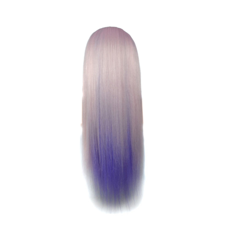 High-Temperature Fiber Long Hair Hairdressing Training Head Model for Salon Modeling Hair Woven Comprehensive Training Doll