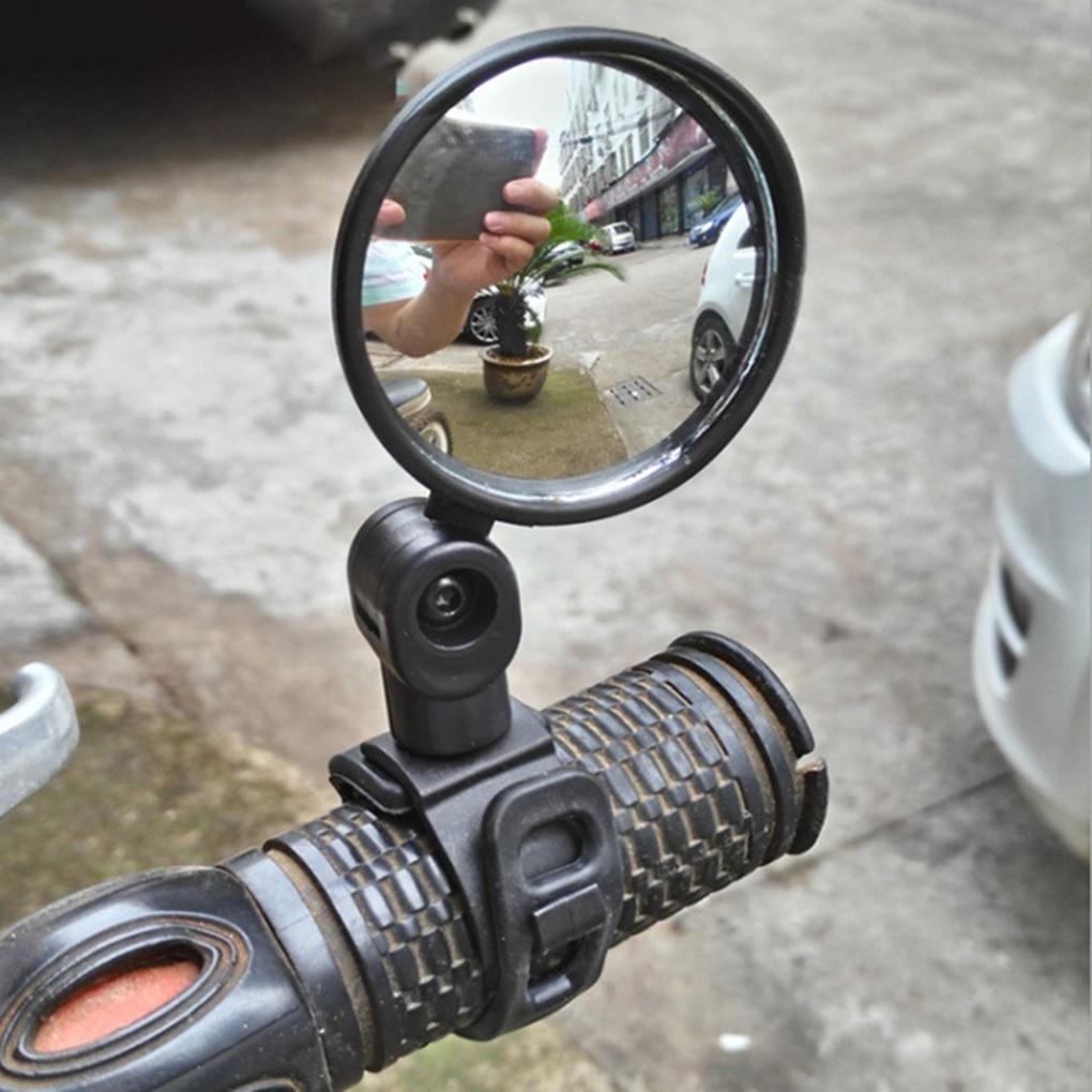 العالمي دراجة مرآة دراجة اكسسوارات المقود مرآة الرؤية الخلفية تدوير واسعة زاوية ل الجبلية الطريق دراجة الدراجات اكسسوارات