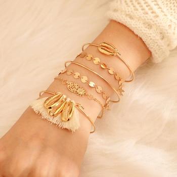 Bracelet Doré Bohème