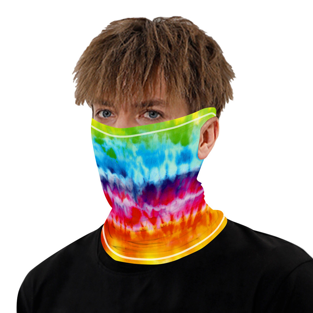 Stylish Printed Dustproof Scarf Mask 16