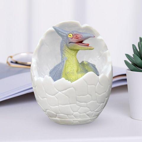 mudando ovo dinossauro offic lampada mesa cabeceira para quarto bebe