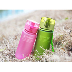 Water bottle Plastic Portable Student Cup Summer  Customized NewOutdoor Sport Camping Product Creative Cup  Bottle