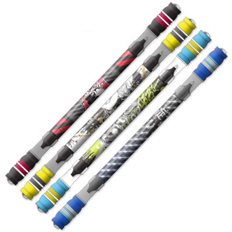 Stylo rotatif drôle stylo de jeu de rotation pour enfants étudiants écrivant des stylos de jouet stylo à bille Kawaii fournitures scolaires de papeterie mignon