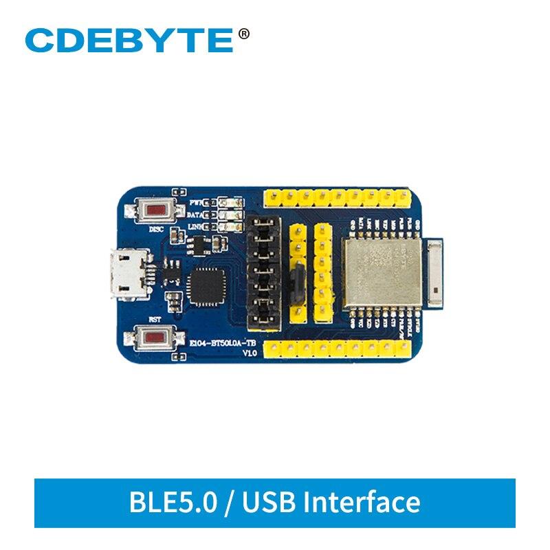 E104-BT5010A-TB NRF52810 USB Test Board Bluetooth Modul BLE 5.0 For UART E104-BT5010A