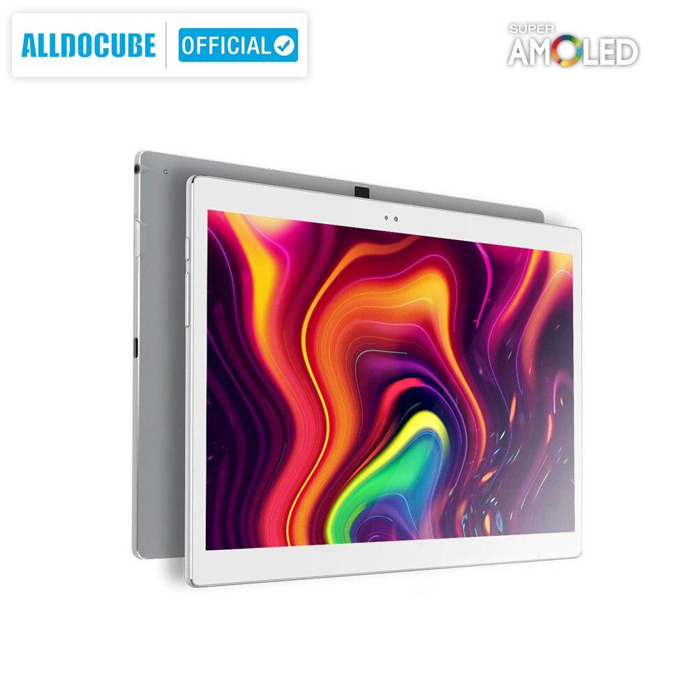 ALLDOCUBE X 10.5 Inch 2K 2560*1600 Super AMOLED Screen 6.9mm Ultra Slim Body Tablet PC Android 8.1 4GB RAM 64GB ROM Fingerprint
