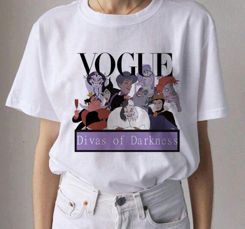 New Vogue Princess Harajuku Graphic T Shirt Women Ullzang Summer 90s T-shirt Kawaii Cartoon Funny Tshirt Fashion Top Tees Female(China)