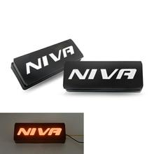 цена на For Lada Niva 4x4 1995 2 x Super Bright Front Parking Front Side Marker Light Bulb Lamp Car Styling Amber Light