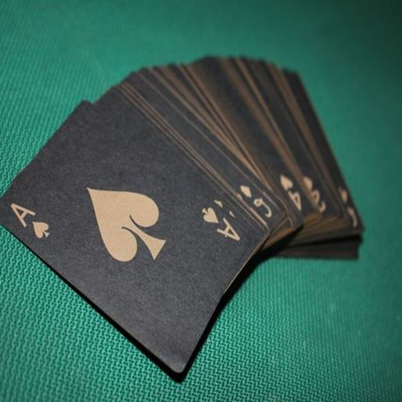 Poker Play Cards Vector Design Files For CNC Laser Cutting Wood Acrylic Engraving Drawing