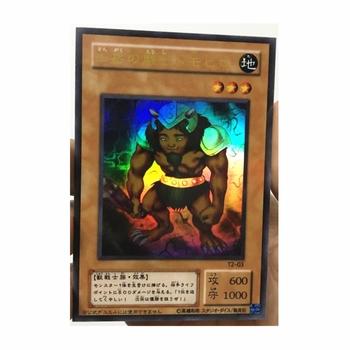 Yu Gi Oh górski wojownik DIY zabawki Hobby Hobby kolekcje kolekcja gier Anime karty tanie i dobre opinie TOLOLO Q945 Dorośli Chiny certyfikat (3C) Fantasy i sci-fi