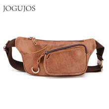 JOGUJOS New Design Genuine Leather Men Chest bag Messenger Bag Casual Male Crossbody Shoulder Fashion Handbag