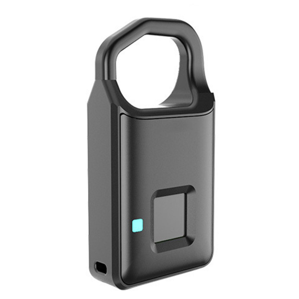 Fingerprint Lock Smart Lock Home Luggage Dormitory Locker Warehouse Door Waterproof Super Long Standby Electronic Padlock