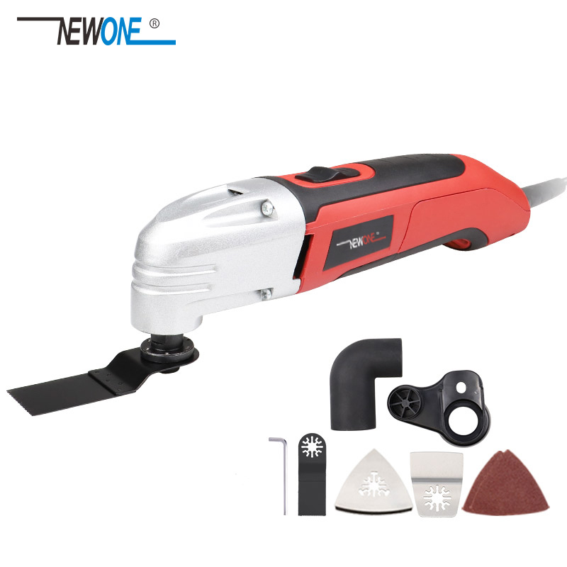 NEWONE Multi-function Power Tool Electric Trimmer Renovator Saw 450W Cutter Oscillating Tool With Handle Multi Purpose Blades