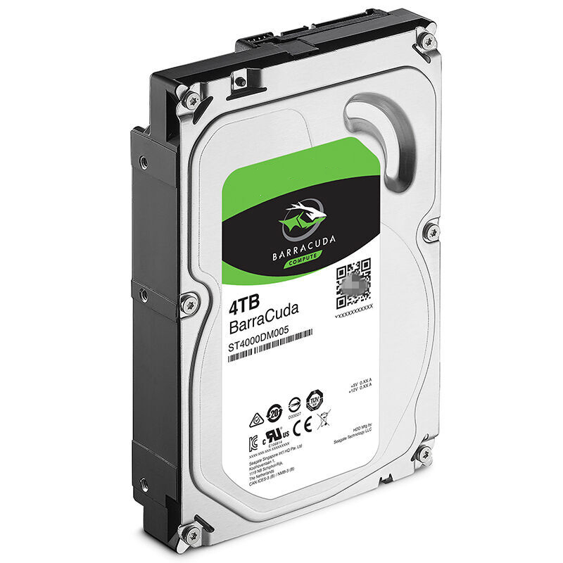 """New HDD For Seagate Brand BarraCuda 4TB 3.5"""" SATA 6 Gb/s 256MB 5400RPM For Internal Hard Disk For Monitoring HDD For ST4000DM004 4"""