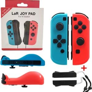 Image 1 - Draadloze Bluetooth Links & Rechts Vreugde con Game Controller Gamepad Voor Nintend Schakelaar NS Joycon Game voor Nintendos Schakelaar console