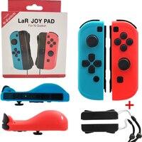 Left & Right Alegria con Jogo sem fio Bluetooth Controller Gamepad Para Nintend Jogo para Nintendos Interruptor Interruptor NS Joycon console|Peças e acessórios de reposição| |  -
