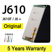 Original New Lcd For Samsung J610 Display Touch Screen SM J610F J610F Wholesale Lcd For Samsung J6 Plus Screen Touch Display