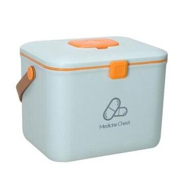 First Aid Kit Medical Box Organizer Multi Schicht Erste Hilfe Notfall Desktop Kleinigkeiten Kosmetische Medizin Kit Kunststoff Behälter Box