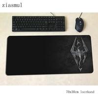 Skyrim de 700x300x3mm diseño en HD gaming alfombrilla grande para el ratón teclado ratón nuevo ordenador portátil para jugador accesorios padmouse mat