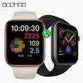 Оригинальные Смарт-часы SCOMAS IWO 12  5 ЭКГ  пульсометр  IP68 Водонепроницаемые Смарт-часы для Apple Android  44 мм