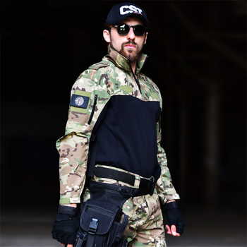 2019 Autumn Military Uniform Airsoft Camouflage US Army Tactical hunting clothes police uniforme Hunting suit