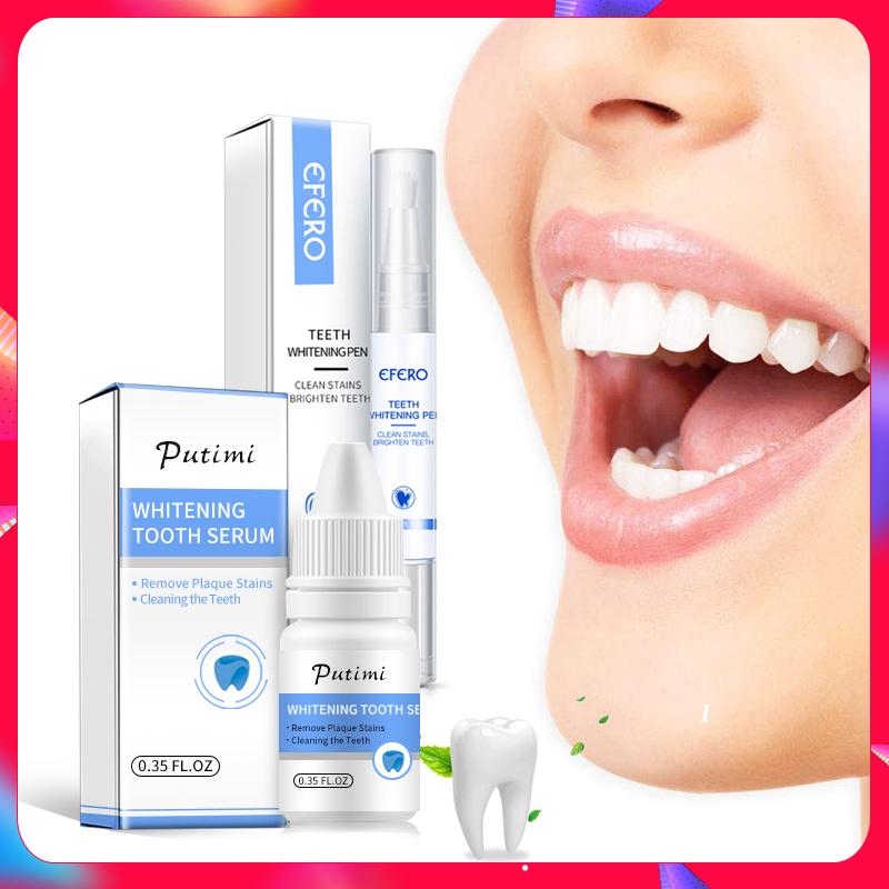 Teeth Whitening Essence Oral Hygiene Cleaning Remove Plaque Stains Bleaching Dental Tools Teeth Whitening Pen Cleaning Serum