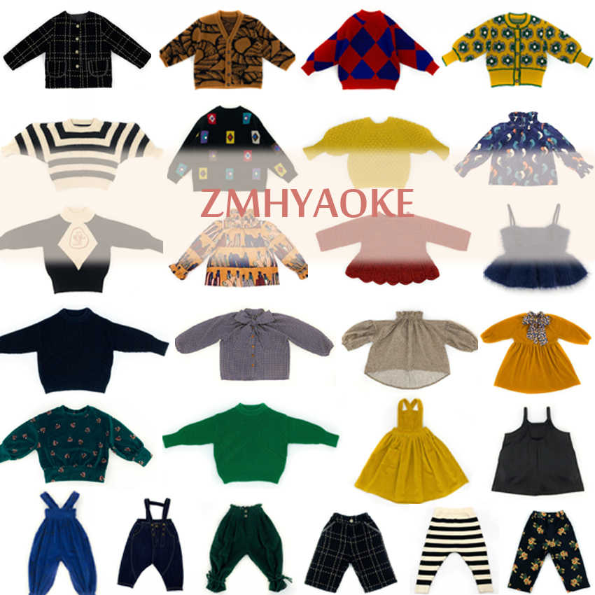 Pre-sale ZMHYAOKE-MF 2020 Spring Girls Outfits Toddler Girl Clothes My First Christmas Dress Boy Clothes Girls Outfits Baby Tops
