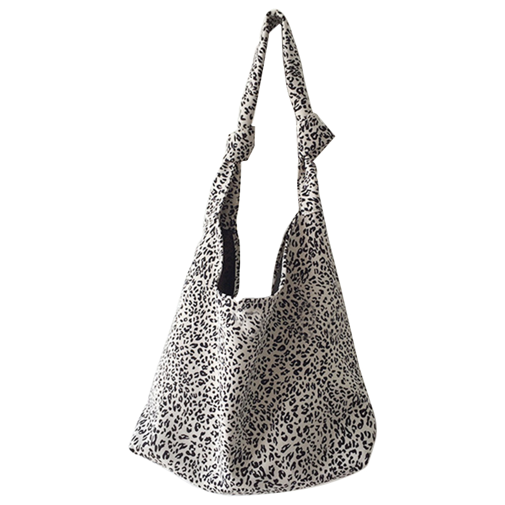 Leopard Printed Crossbody Bags CanvasSmall Summer Lady Shoulder Handbags Female Simple Totes for Women 2020 Trend