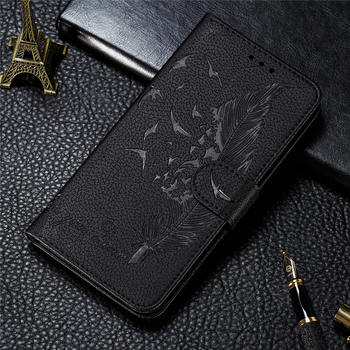 Luxury Wallet Flip PU Leather Case For Samsung Galaxy M51 Cartoon 3D Embossed Card Shockproof Magnet Cover For Galaxy M 51 Capa