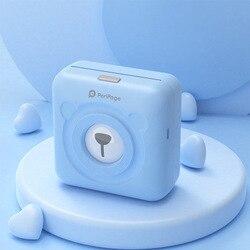 Peripage impressora térmica portátil bluetooth mini fotos impressora para celular android ios telefone 58mm máquina de bolso