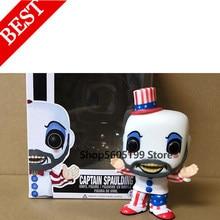 Экшн-фигурка Captain Spaulding 58 # POP с коробкой, аниме модель из ПВХ, коллекционные игрушки для подарка на день рождения
