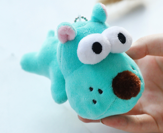 Cute Little 10cm ,  3Colors DOG plush toy , New Gift dog toy key chain , plush stuffed animal dog  doll