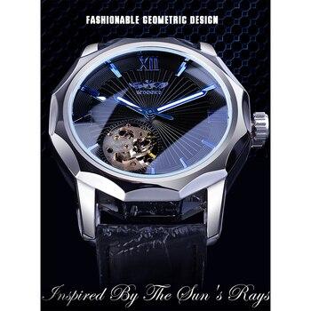 Мужские часы Winner синий океан 1