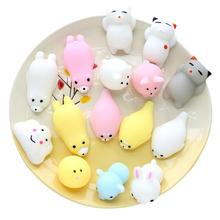 Soft Squishy Pets Cute Lovely Chubby Animal Toys Stress Relief and Fun Play Toy for Kids Adults