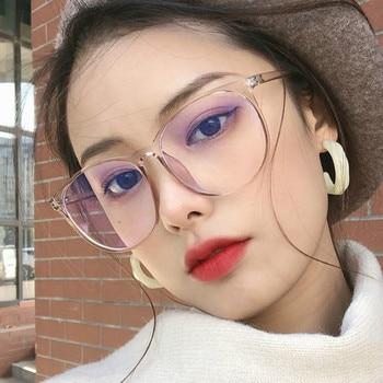 Blue Light Blocking Glasses 2020 Women Oversized Eyeglasses Anti Blue Light Computer Glasses Men Safety Eyewear Spectacle 4