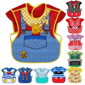 Disney Cute Baby Adjustable Bibs
