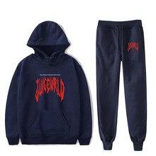 2020 new WRLD rapper juice print hoodie men and women fashion popular hip-hop cool style Wrld hooded suit