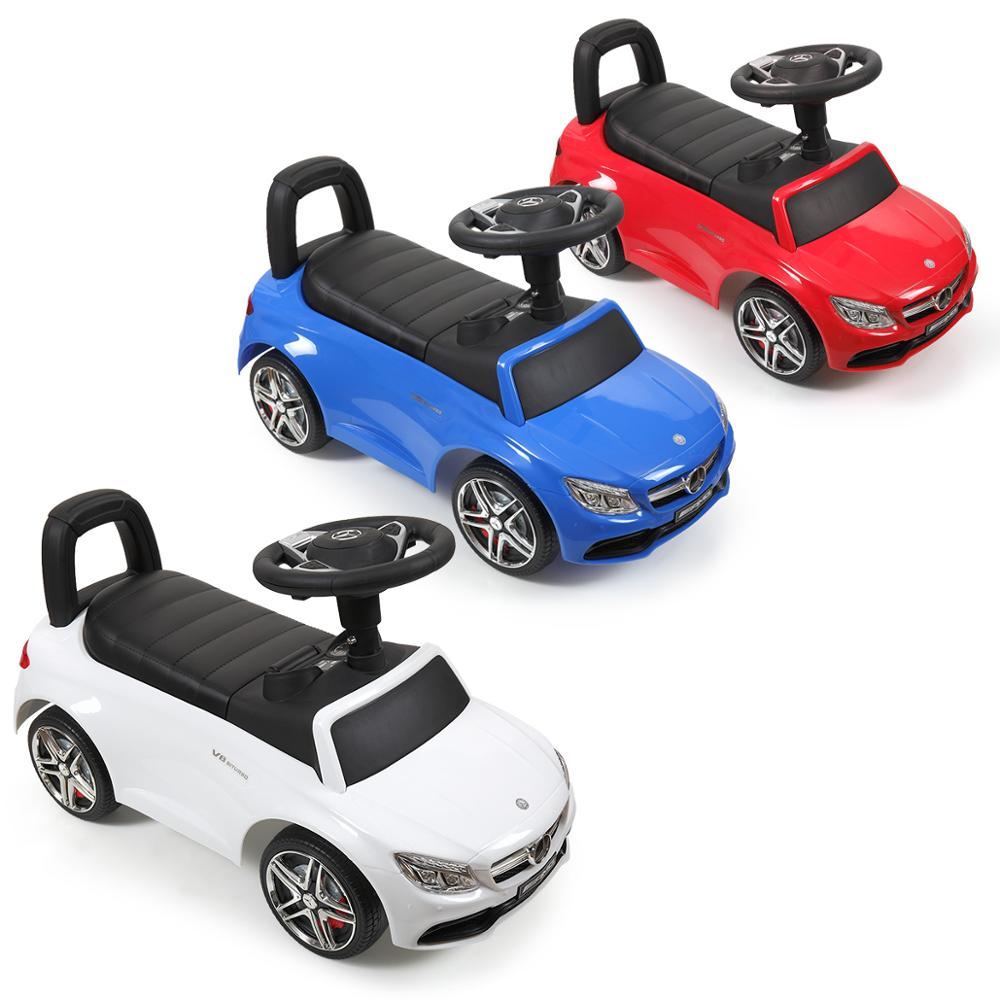 - 3 Color Kids Mercedes Foot To Floor Ride On Push Car For Toddler 1