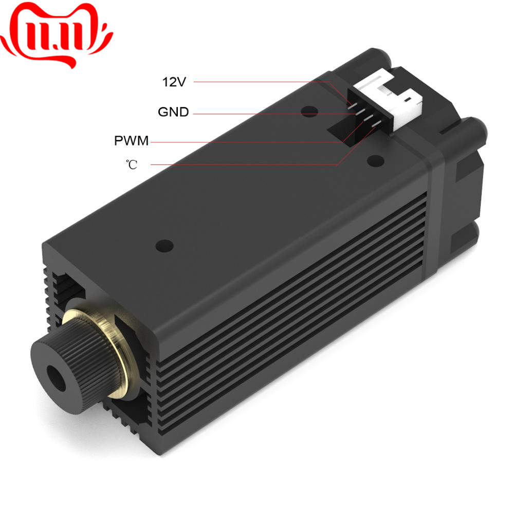 3500mw 405nm Laser Module Head For NEJE MASTER Laser Engraving Machine Replacement