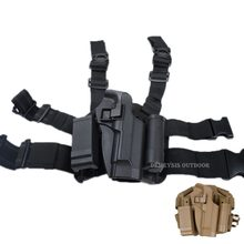 Tactical Hunting Beretta Holster z etui na magazynek kabura lewego prawego Airsoft Combat noga pistolet kabura dla Beretta M9 92 96