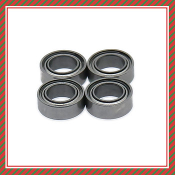 RCAWD Rolling Oil Bearing Thickness 2.2mm X Inner Diameter 4/5mm For 1/10 RC Car Buggy Truck Hop-Up Spare Parts image