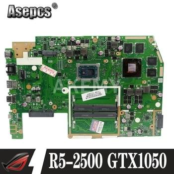 X570ZD Motherboard For Asus TUF YX570Z YX570ZD X570Z X570ZD Laptop motherboard Mainboard R5-2500 CPU GTX1050 GPU