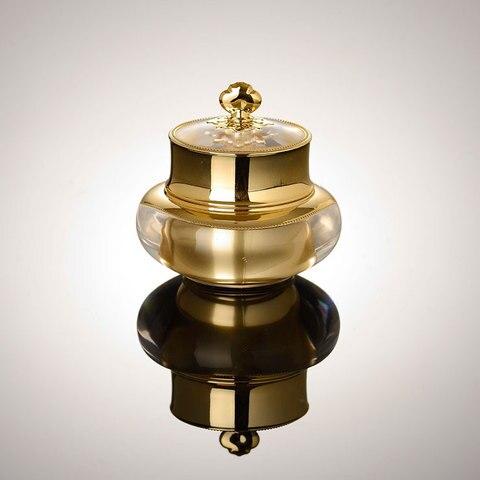 15G 30G forma coroa de ouro boi o de creme de creme para os olhos