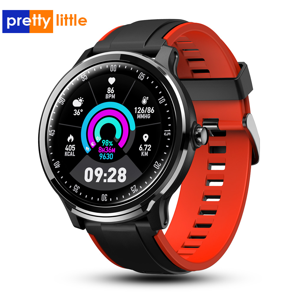 SN80 Smart watch IP68 Waterproof 1.3 inch Full touch round screen Blood Oxygen Men Sport Smartwatch For Android IOS