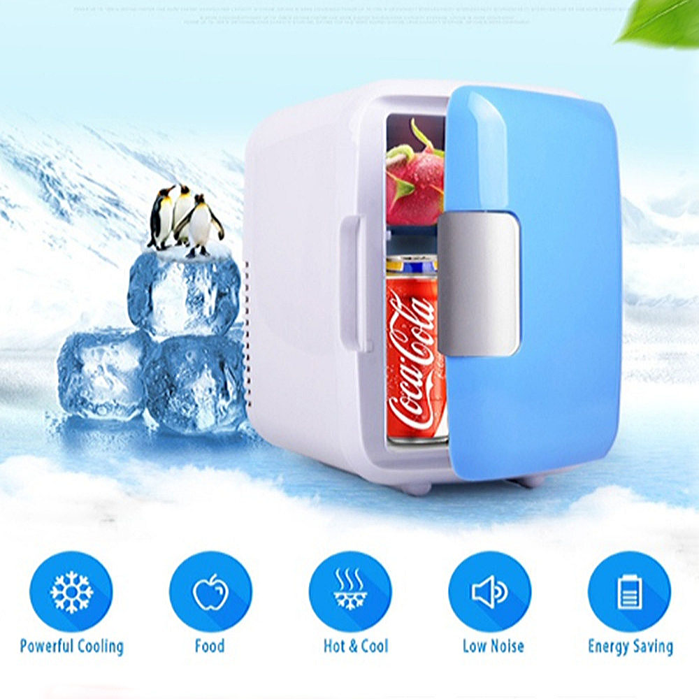 2020 New Small Single Door Heating Refrigerators Fridge Freezer Cooler Warmer Cooling Home Office Using Quiet And Low Noise