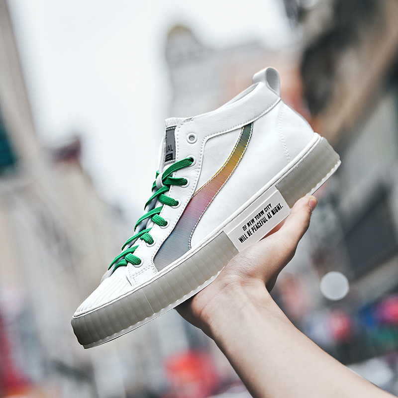 Best Selling Athletic Sneakers For Men Brand Platform Skate Shoes Men High  Top Skateboard Shoes Mens Wearable Men Sport Shoes Skateboarding  -  AliExpress