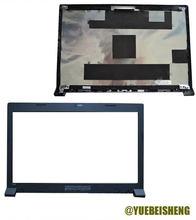 Новинка, задняя крышка для Lenovo B480 B485 B490 B480A B490G ЖК-дисплея + передняя панель, черный