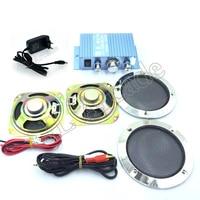 Hi Fi Audio Stereo Amplifier Arcade Game Audio Kit 4 inch Speaker for Raspberry Pi Multi Game PCB Pinball Machine