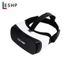 LESHP Bluetooth 3D VR Glasses Headset Virtual Reality Goggles Box Play Movies Photos Enjoyment for Smartphones dropshipping